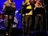 Horn Section: Simon Englert, Tobias Weimer, Dietrich Ruess (v.l.n.r.)